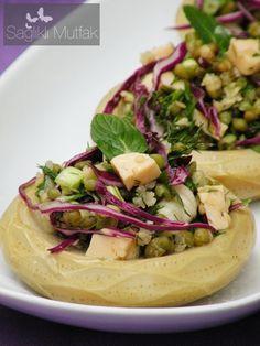 Maş Fasulyeli Enginar Salatası