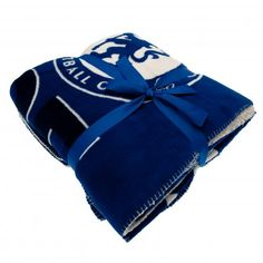 Chelsea FC Sherpa Fleece Blanket