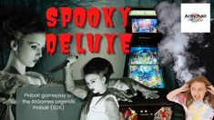 Gameplay video for Spooky Deluxe (Zaccaria) on the AtGames Legends Pinball (026) - Armchair Arcade