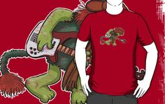 """Boober Vs. The World"" Fraggle Rock shirt. Never have I wanted a shirt so badly."