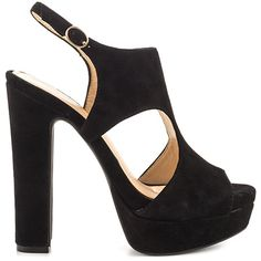 Barrow - Black Lux Kid Suede by Jessica Simpson