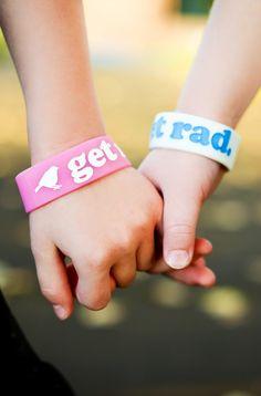 Get Rad Silicone Wristband