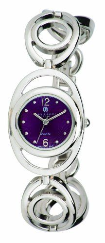 Charles-Hubert, Paris Women's 6828-H Classic Collection Chrome Finish Purple Sunray Dial Watch Charles-Hubert, Paris. $87.46. Purple dial with silver-tone markers. 26mm chrome finish case and band. Water-resistant to 30 M (99 feet). Limited lifetime warranty. Japanese quartz movement