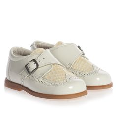 Children's Classics- Ivory Patent Leather Shoes at Childrensalon.com $75