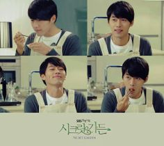 Let's try Kim Joo Won's cooking..