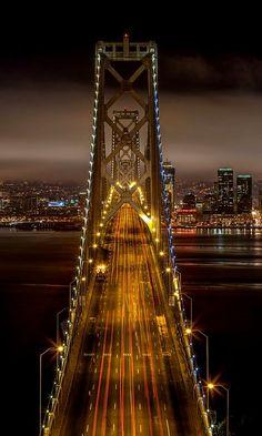 Bay Bridge Overlook ~ San Francisco, California, U.S | Flickr - Photo by tristanotierney
