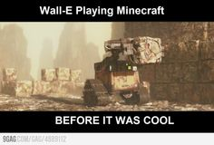 Hipster Wall-E