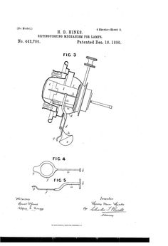 Patent US442760 - hikes