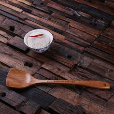 Personalised Wooden Spatula