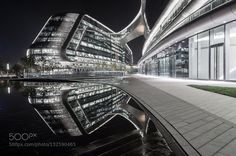 Sky Soho reflection in the water by Yuanping. @go4fotos