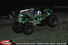 Virginia Beach at Night Monster Truck Show, Monster Trucks, Beach At Night, May 7th, Virginia Beach, Monsters, Beach Night