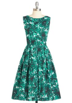 Walk Down the Isle Dress. Your besties beach wedding is made all the more marvelous when you arrive in this teal dress from hard-to-find British brand Emily and Fin! #green #modcloth