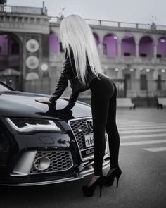 Cars & girls heaven audi bmw girl, trucks and girls, car girls Auto Girls, Car Girls, Sexy Cars, Hot Cars, Motard Sexy, Sexy Autos, Electric Car Charger, Car Poses, Bmw Girl