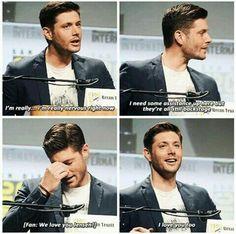 I love you Jensen!