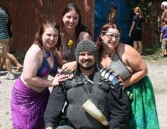 2012 Great Lakes Medieval Faire - Chainmail everywhere