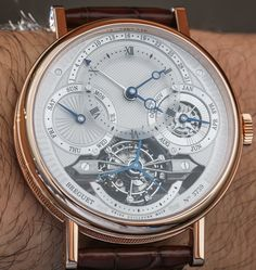 """Breguet Classique Complications 3795 & 3797 Tourbillon Perpetual Skeletonized Watches Hands-On - by David Bredan - see the stunning pictures and read more on aBlogtoWatch.com """"At BaselWorld 2014, Breguet revealed two extremely complicated 'halo-pieces,' humbly titled the Breguet Classique Complications 3795 and 3797, each featuring a tourbillon, perpetual calendar, and, in the case of the former reference, an extensively and exquisitely skeletonized movement and dial. We went hands-on with…"""