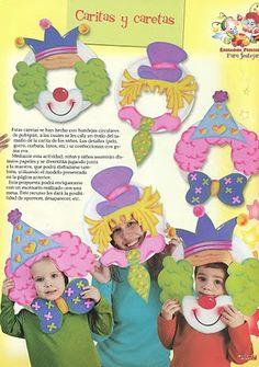 clown photo frame