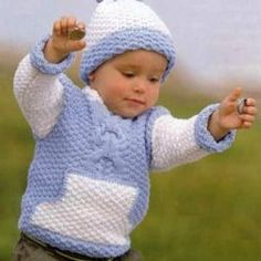 This Pin Was Discovered By Min – Artofit - Diy Crafts - maallure Baby Knitting Patterns, Crochet Patterns, Diy Crafts Knitting, Ravelry Crochet, Textiles, Baby Boy Outfits, Kids And Parenting, Knit Cardigan, Crochet Baby