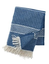 Klippan Indigo Quilt Eco Wool Throws designed by Birgitta Bengtsson Bjork, now at Northlight