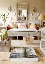 Shabby chic living room decoration are so cute that when you see them, you just can't get enough. Because it makes the space refined and really chic. You need to look at the furniture and general decor first. Furniture is where the term shabby really co Salon Shabby Chic, Estilo Shabby Chic, Shabby Chic Living Room, Shabby Chic Kitchen, Shabby Chic Homes, Shabby Chic Furniture, Living Room Decor, Furniture Sale, Living Rooms