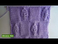 Punto (puntada) TRENZA (OCHOS). Tejido con dos agujas. Tutorial de tejido con dos agujas. Gráfico (esquema) en mi blog http://silvana-tim.blogspot.com.ar/201...