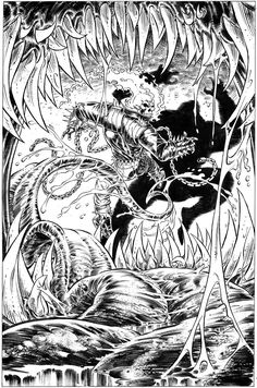 Ghost Rider Kubert 1993 by BillReinhold.deviantart.com