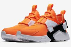 Nike Air Huarache City Low Orange Just Do It Releasing Next Month