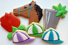 Oven Lovin': Kentucky Derby-Inspired Cookies