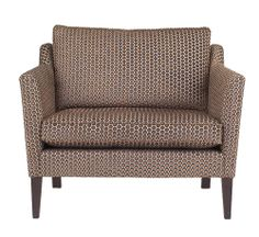 Sherborne 'love seat' 1.5 seat sofa in Milton fabric, Wesley-Barrell