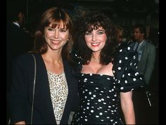 Pam and sister Katherine reunited! 1988,,, #Dallas