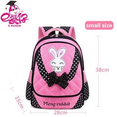 43df6095fb EKUIZAI Children School Bags For Girls Schoolbag Cartoon Kids Book School  Backpacks Mochila Infantil Factory Price School Bag
