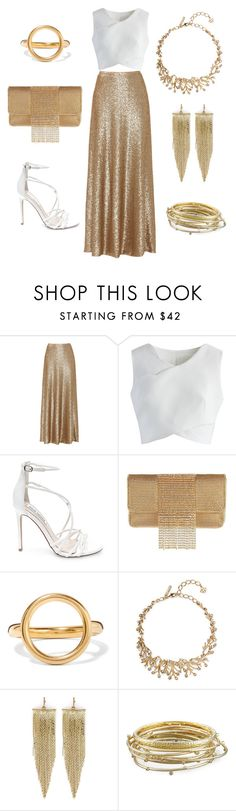 """""""Untitled 37"""" by jaelclarice ❤ liked on Polyvore featuring Slate & Willow, Chicwish, Steve Madden, Whiting & Davis, Marni, Oscar de la Renta, Kenneth Jay Lane and Kendra Scott"""