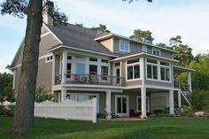 2009 custom built lake front home by David C Bos Homes