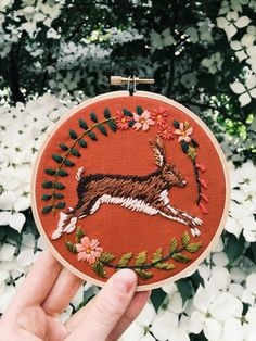 A Pair & A Spare | How to: Seriously Cool Embroidery with Tessa Perlow