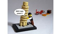 Leaning Tower of Pisa Lego set