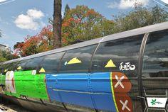 A ação inaugural da Corrente Cultural fica por conta do trabalho do artista e grafiteiro Michael Devis.