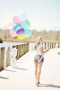 Portrait of Samantha      #photography #girl #fashion #balloons