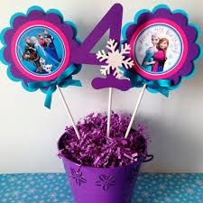 Welcome to Sweetheart Party Shop! These centerpiece sticks are a great addition to your Frozen party table! Elsa Birthday Party, Frozen Themed Birthday Party, Disney Frozen Birthday, Frozen Birthday Party, 6th Birthday Parties, Purple Birthday, Birthday Table, 4th Birthday, Birthday Ideas