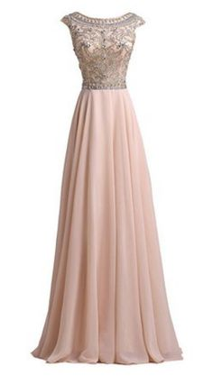LovingDress Chiffon & Tulle Long Evening Gown and this is my dress that if I ever become lucky enough to be invited to a formal event. Grad Dresses, Homecoming Dresses, Flapper Dresses, Prom Gowns, Elegant Dresses, Pretty Dresses, Formal Dresses, Pretty Outfits, Long Evening Gowns