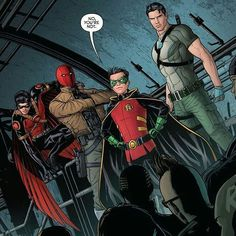 Tim Jason Damian & Dick! Who's hoping to see the Red Hood show up in a future Batman film? Perhaps he'll play a role in the Batman solo with Ben Affleck. What are your thoughts? What about a solo movie? Do you think we should see Hush before Red Hood? Who are your acting choices if so? Let us know in the comments? by devilzsmile.com #devilzsmile