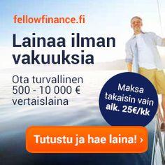 500 - 10.000 euroa lainaa ilman takaajia