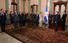 Danilo Medina juramenta a funcionarios recién designados