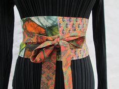 kimono silk obi style sash belt