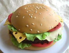 torta hamburger - recipe and tutorial