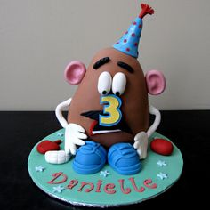 Mr Potato Head Cake