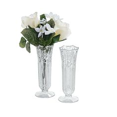 Bud Vases - OrientalTrading.com. I am seriously loving this website for my wedding planning