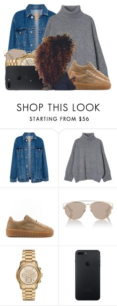 """""""155"""" by jalay ❤ liked on Polyvore featuring Pull&Bear, Puma, Christian Dior and Michael Kors"""