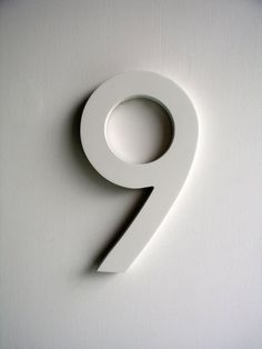 Wooden number from Uncommon