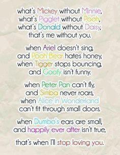 Disney love poem<3