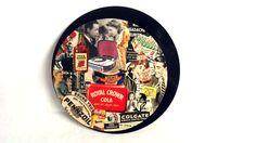 """Tableau rond sur support en disque vinyl 45 tours , """" Rétrométrie """" : Décorations murales par vnealstory"""